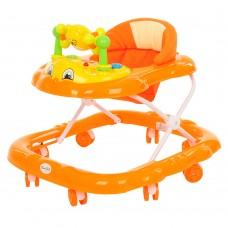 BAMBOLA Ходунки Дружок (8 колес, игрушки, муз) Orange/Оранжевый