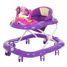 BAMBOLA Ходунки Дружок (8 колес, игрушки, муз) Purple/Фиолетовый