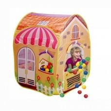 Дома с шарами, дома-палатки, корзины д/игрушек (22)
