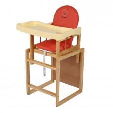 ГЛОБЭКС Стул-стол для кормления МИШУТКА пластиковая столешница