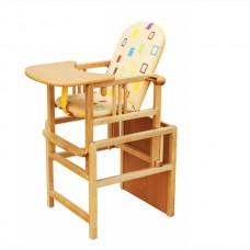 ГНОМ Стул-стол для кормления регулируемая спинка