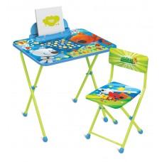 НИКА Набор мебели МИ-МИ-МИШКИ (стол-парта+мяг.стул+пенал) ММ1/1 h520