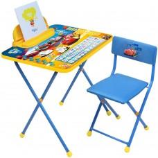 НИКА Набор мебели ТАЧКИ (стол+мягкий стул+пенал) Д2Т h580