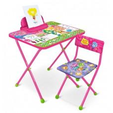 НИКА Набор мебели ФИКСИКИ (стол+мягкий стул+пенал) Ф23 h580