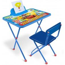 НИКА Набор мебели ТАЧКИ (стол+мягкий стул) Д1ПТ h520