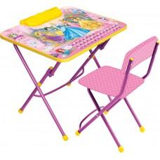 НИКА Набор мебели ПРИНЦЕССА DISNEY (стол+мягк. стул) Д3П h580