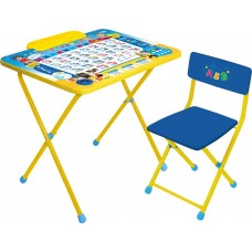 НИКА Набор мебели ПОЗНАЙКА (стол+мягкий стул) КПМ/П h520