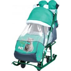 Ника Детям 7-2 санки-коляска Kitty
