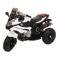 PITUSO Электромотоцикл HLX2018/2, колеса надув, White/Белый