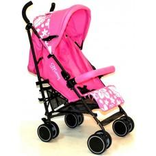 Stiony коляска-трость Memo розовая